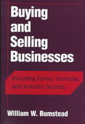 Buying and Selling Businesses 1st edition 9780471243366 0471243361