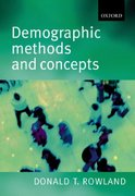 Demographic Methods and Concepts 1st Edition 9780198752639 0198752636
