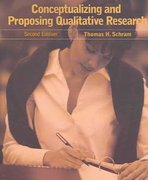 Conceptualizing and Proposing Qualitative Research 2nd edition 9780131702868 0131702866