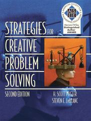 Strategies for Creative Problem Solving 2nd Edition 9780130082794 0130082791