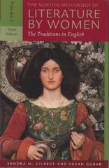 The Norton Anthology of Literature by Women 3rd Edition 9780393930139 0393930130