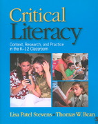 Critical Literacy 1st Edition 9781412941181 1412941180