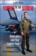 Vipers in the Storm: Diary of a Gulf War Fighter Pilot 1st edition 9780071400404 0071400400
