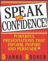 Speak With Confidence 1st Edition 9780071408059 0071408053