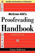 McGraw-Hill's Proofreading Handbook 2nd Edition 9780071457644 007145764X