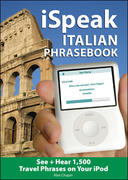 iSpeak Italian Phrasebook (MP3 CD+ Guide) 1st edition 9780071486149 0071486143