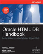 Oracle HTML DB Handbook 1st edition 9780072257687 0072257687