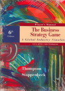 Strategy Game 6th edition 9780072310054 0072310057