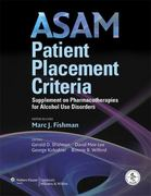 ASAM Patient Placement Criteria 1st edition 9780781791229 0781791227
