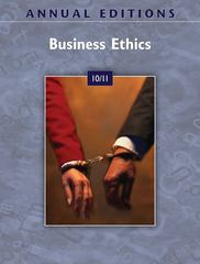 Annual Editions: Business Ethics 10/11 22nd edition 9780073528618 0073528617