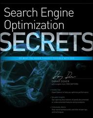Search Engine Optimization (SEO) Secrets 1st edition 9780470554180 0470554185