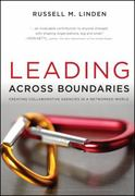 Leading Across Boundaries 1st Edition 9780470396773 0470396776