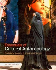 Essentials of Cultural Anthropology 2nd edition 9781111792671 1111792674
