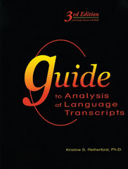 Guide to Analysis of Language Transcripts 3rd Edition 9781416404149 1416404147
