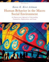 Human Behavior in the Macro Social Environment 3rd Edition 9781133008606 1133008607