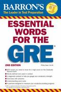 Essential Words for the GRE 2nd Edition 9780764144783 0764144782