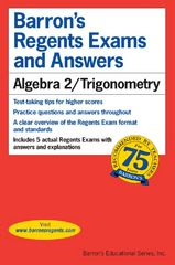 Algebra 2/Trigonometry 1st Edition 9780764145124 0764145126