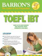 Barron's TOEFL iBT 13th edition 9780764196980 0764196987
