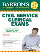 Barron's Civil Service Clerical Exam 6th edition 9780764143021 0764143026