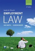 Smith & Wood's Employment Law 10th edition 9780199565542 0199565546