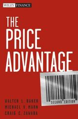 The Price Advantage 2nd edition 9780470481776 0470481773