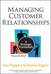 Managing Customer Relationships 2nd Edition 9780470423479 0470423471