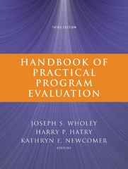 Handbook of Practical Program Evaluation 3rd Edition 9780470522479 047052247X