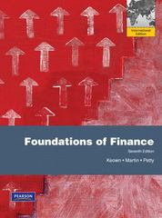 Foundations of Finance 7th edition 9780135122365 0135122368