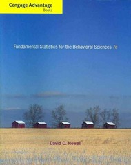 Cengage Advantage Books: Fundamental Statistics for the Behavioral Sciences 7th edition 9780840032973 0840032978