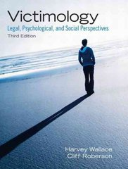 Victimology 3rd edition 9780135071571 0135071577