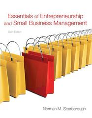 Essentials of Entrepreneurship and Small Business Management 6th Edition 9780136109594 0136109594