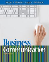 Business Communication 8th Edition 9781439080153 1439080151