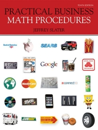 Practical Business Math Procedures 10th Edition 9780077362355 0077362357