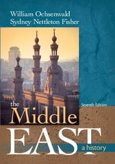 The Middle East 7th Edition 9780073385624 007338562X