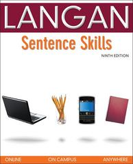 Sentence Skills: A Workbook for Writers 9th edition 9780073371696 0073371696
