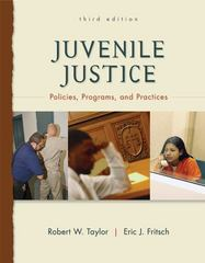 Juvenile Justice 3rd Edition 9780078111457 0078111455