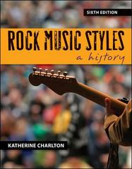 Rock Music Styles 6th Edition 9780078025075 0078025079
