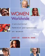 Women Worldwide 1st Edition 9780073512297 007351229X