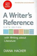 Writer's Reference with Writing about Literature with 2009 MLA Update & Writing in the Disciplines 6th edition 9780312642532 0312642539