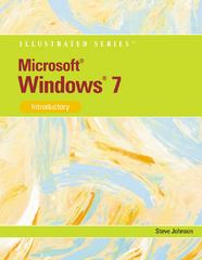Microsoft Windows 7 1st Edition 9780538749053 0538749059