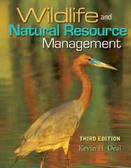 Wildlife and Natural Resource Management 3rd Edition 9781111784164 1111784167