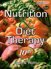 Nutrition & Diet Therapy 10th Edition 9781435486294 1435486293