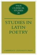 Studies in Latin Poetry 1st edition 9780521124584 0521124581