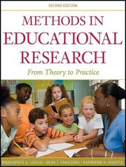 Methods in Educational Research 2nd Edition 9780470436806 0470436808