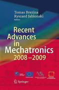 Recent Advances in Mechatronics 2008-2009 1st edition 9783642050213 3642050212