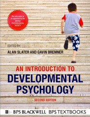 An Introduction to Developmental Psychology 2nd edition 9781405186520 1405186526