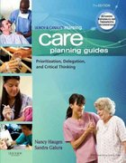 Ulrich & Canale's Nursing Care Planning Guides 7th Edition 9781437701746 1437701744