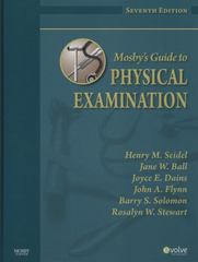 Mosby's Guide to Physical Examination 7th Edition 9780323055703 0323055702