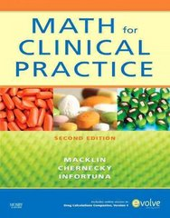 Math for Clinical Practice 2nd edition 9780323064996 032306499X