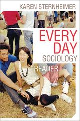 Everyday Sociology Reader 3rd Edition 9780393934298 0393934292